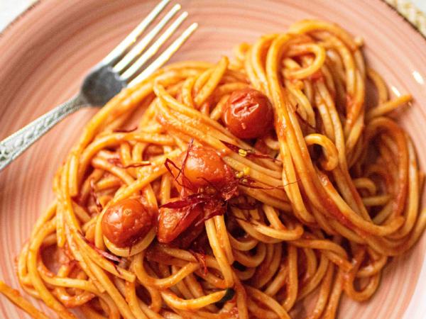 Spaghetti al sugo piccante