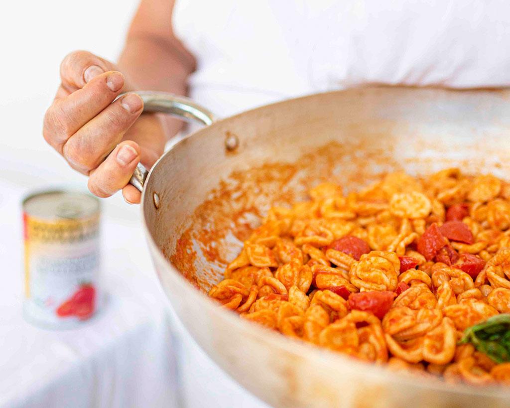 Orecchiette ceci e pomodorini